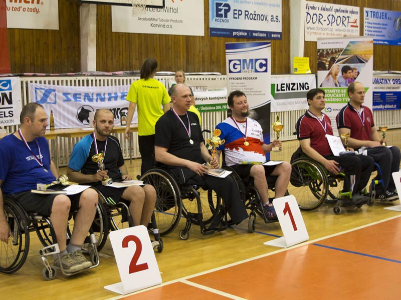 News - Czech championship in wheelchair table tennis