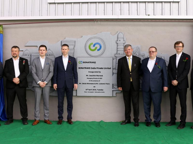 News - New BONATRANS production plant in India opened.